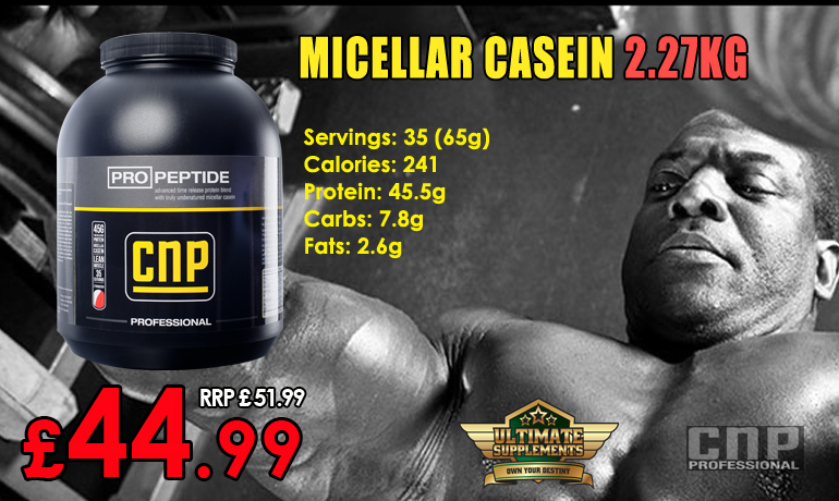 FB - Prices - Sups - CNP - Pro Peptide - BB - Alvin Small