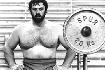 Geoff Capes, ENG – Strongman & Highland Games Legend