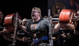 Carl Christensen, ICE - Powerlifter