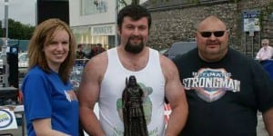 Strongman - Irelands Strongest Man Amature 2014 - Winner Mathew McCoy 2