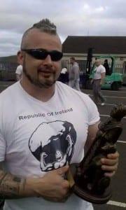 Strongman - Republic Irelands Strongest Man 2014 - Kieth Maher Co.Offaly