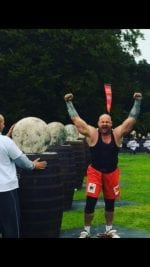 Pa O'Dwyer lifts the title of IVECO Ireland's Strongest Man 2016