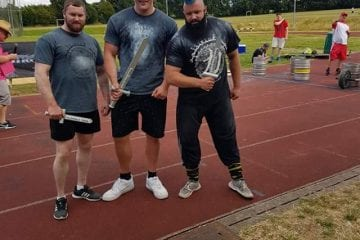 Richard Scott comes 3rd in Junior UK Strongest Man 2016