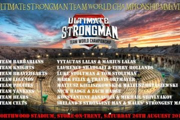 Ultimate Strongman Team World Championship 2018