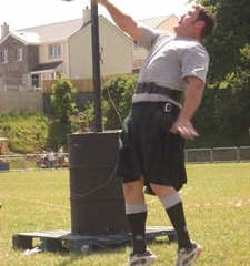 Jonathan Kelly County Antrim IRE – Highland Games & Strongman