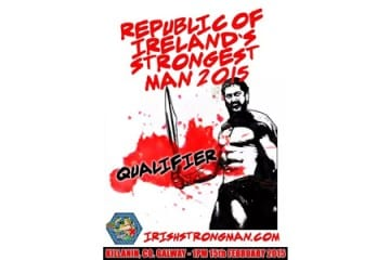 Republic Of Ireland Strongest Man Qualifier 2015