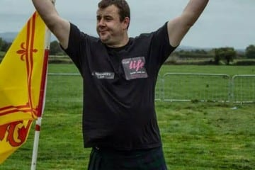 Daniel Troy , County Tipperary IRE-Highland Games