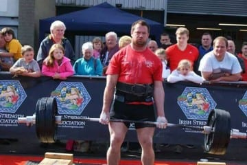 Shay Ryan ,County Wexford IRE-Strongman