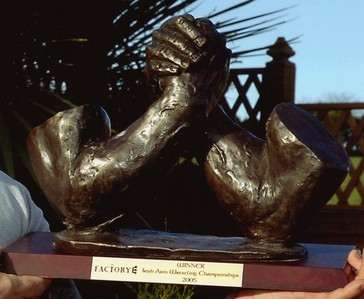 Armwrestling trophy 2