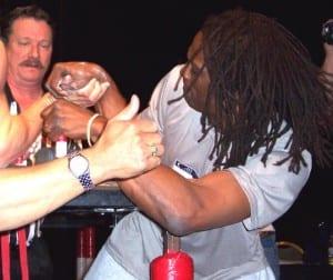 Cobra Rhodes, USA - Arm Wrestler