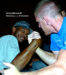 Johnny Walker, USA - Arm Wrestler