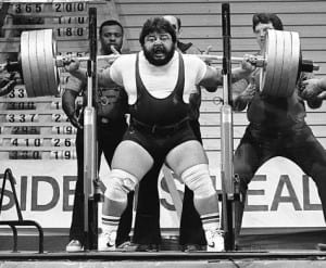 Lee Moran - 1st 1000ln squat