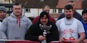 Strongman - Ulsters Strongest Man Quailifer - Clark Beck