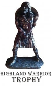 Trophy - Highland Warrior Trophy