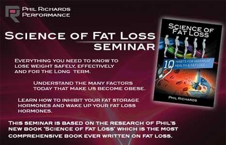 Phil Richards – Science Of Fat Loss Seminar 2015 Belfast