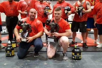 Dean Kennedy wins 95KG UK Strongest Man 2016