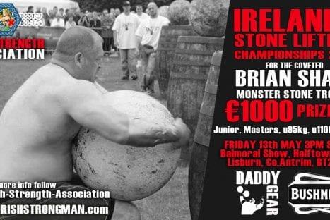 Irelands Stone Lifting Championships 2016