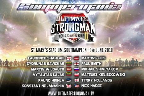 Ultimate Strongman World Championship II