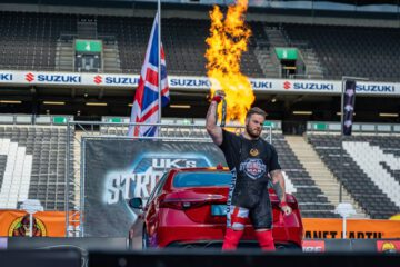 UK's Strongest Man 2021 RESULTS